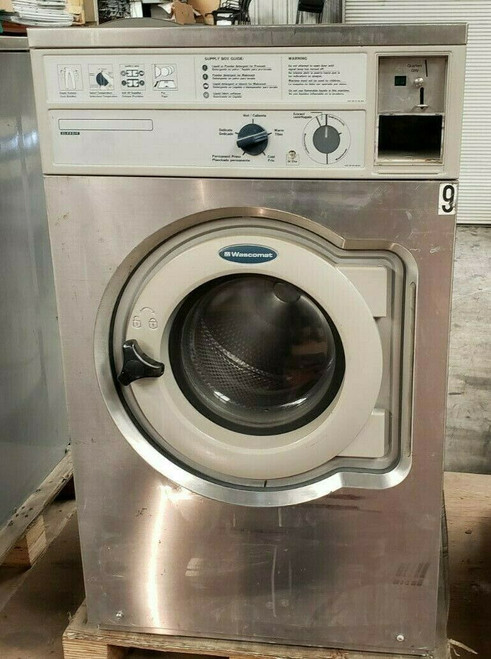 WASCOMAT W620 FRONT LOAD WASHER 208-240 3PH SN: 00520/0073880