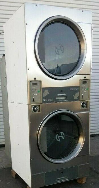Huebsch HTT30NBCB2G2N02 Stack Dryer Coin Op 30LB, 120VAC 60Hz 1PH, S/N: 1204014334