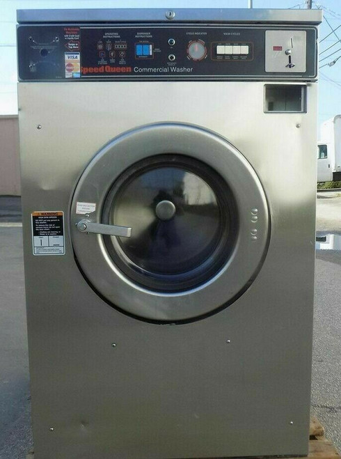 Speed Queen Front Load Washer Coin Op 25LB, 208-240V, Model: SC25MD2OU40420