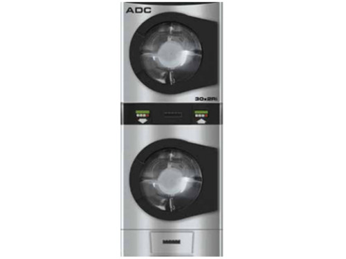 ADC i-Series 30lb Stack Dryer AD-30x2Ri Coin Operated
