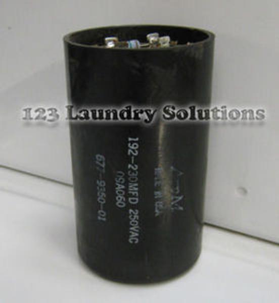 Milnor Front Load Washer, Wash Capacitor 192 MDF 250V