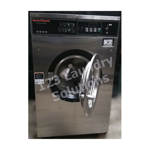 Speed Queen 35lb Stainless Steel Washer 3PH 208-240V 1000179444 (Refurbished)