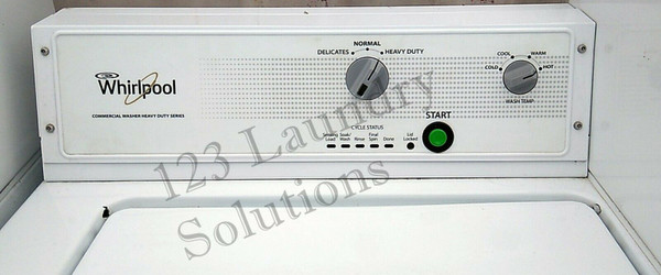 Whirlpool top load commercial Washing Machine coin operated, CAE2743BQ0 , white, 115 Volts