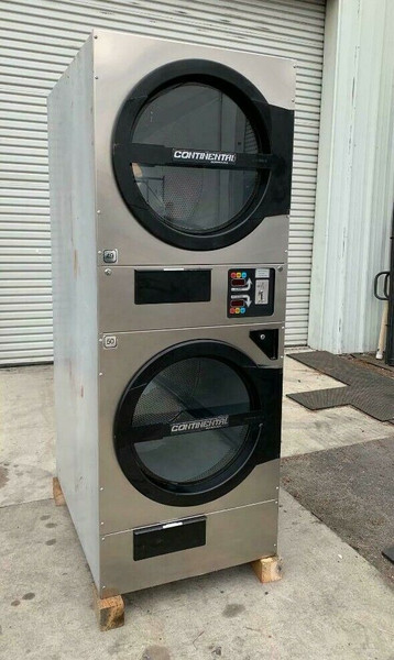 AMERICAN DRYER ADC ADG330D STACK DRYER, 30LB, STAINLESS S/N 472448CC [REF]