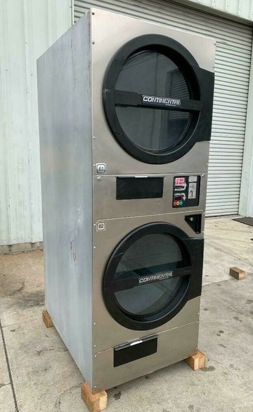 AMERICAN DRYER ADC ADG330D STACK DRYER, 30LB, STAINLESS S/N 472453CC [REF] (ADG330D-472453CC)