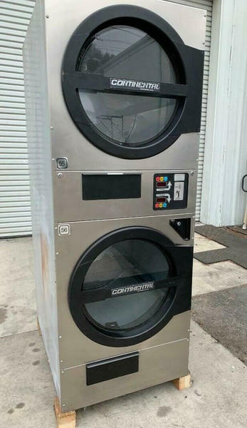 AMERICAN DRYER ADC ADG330D STACK DRYER, 30LB, STAINLESS S/N 472461CC [REF]