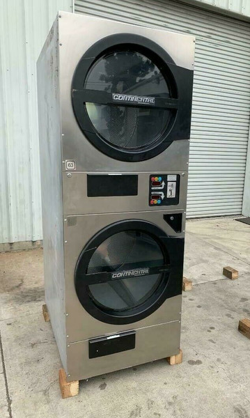 AMERICAN DRYER ADC ADG330D STACK DRYER, 30LB, STAINLESS S/N 472455CC [REF] (ADG330D-472455CC)