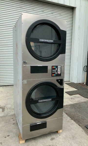 AMERICAN DRYER ADC ADG330D STACK DRYER, 30LB, STAINLESS S/N 472457CC [REF] (ADG330D-472457CC)
