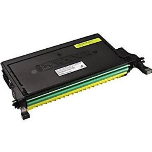 Dell 2145CN Premium Compatible Toner Cartridge: Yellow  (Yields: 5000 Pages)