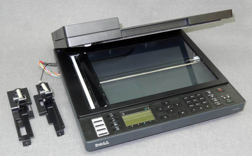 Auto-document-feeder ADF Scanner assembly without ADF input tray, with hinges - for Dell 1355cn or 1355cnw printer