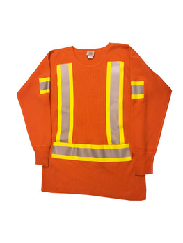 Hi Vis Wool Sweater Front