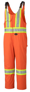 Orange Hi Vis Overalls Tall