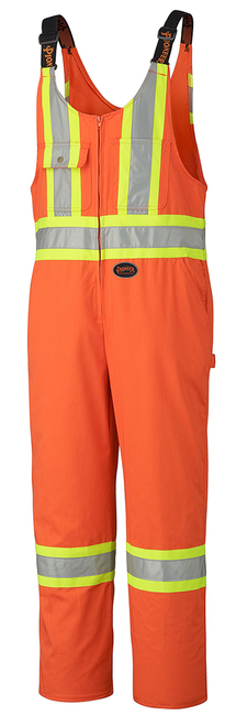 Orange Hi Vis Overalls Tall