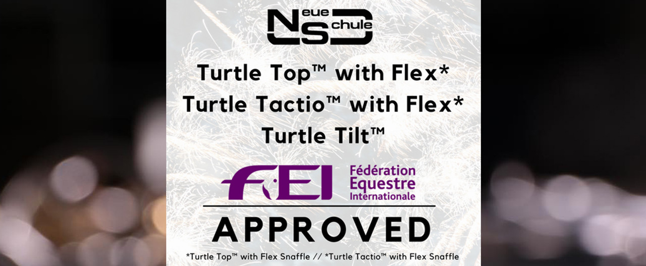 Neue Schule Turtle Family receive official approval from the FEI!