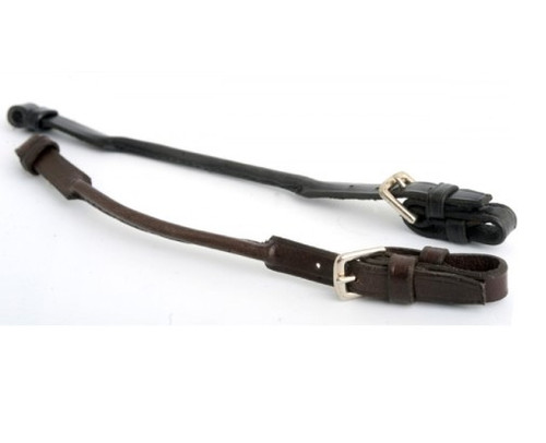 flat leather lip strap