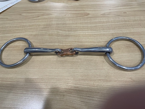 """Sweet Copper French Link Snaffle 5.5"""""""