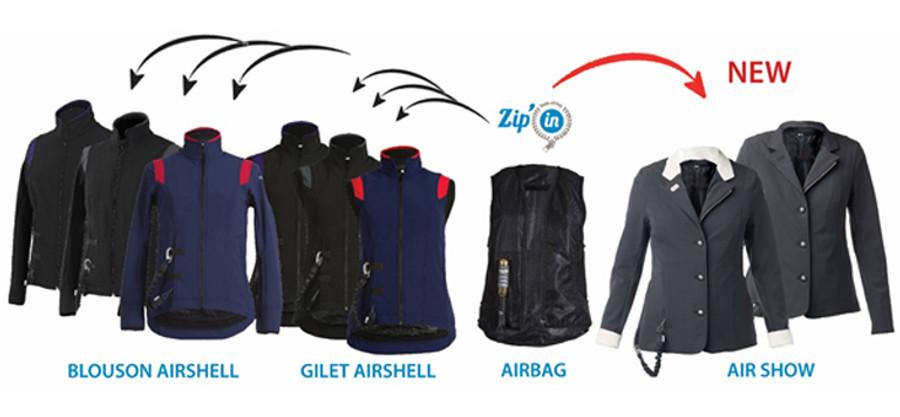 HELITE Zip-In Air Bag Only