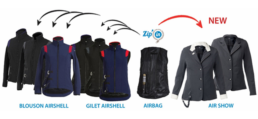 HELITE Zip-In Air Bag Only