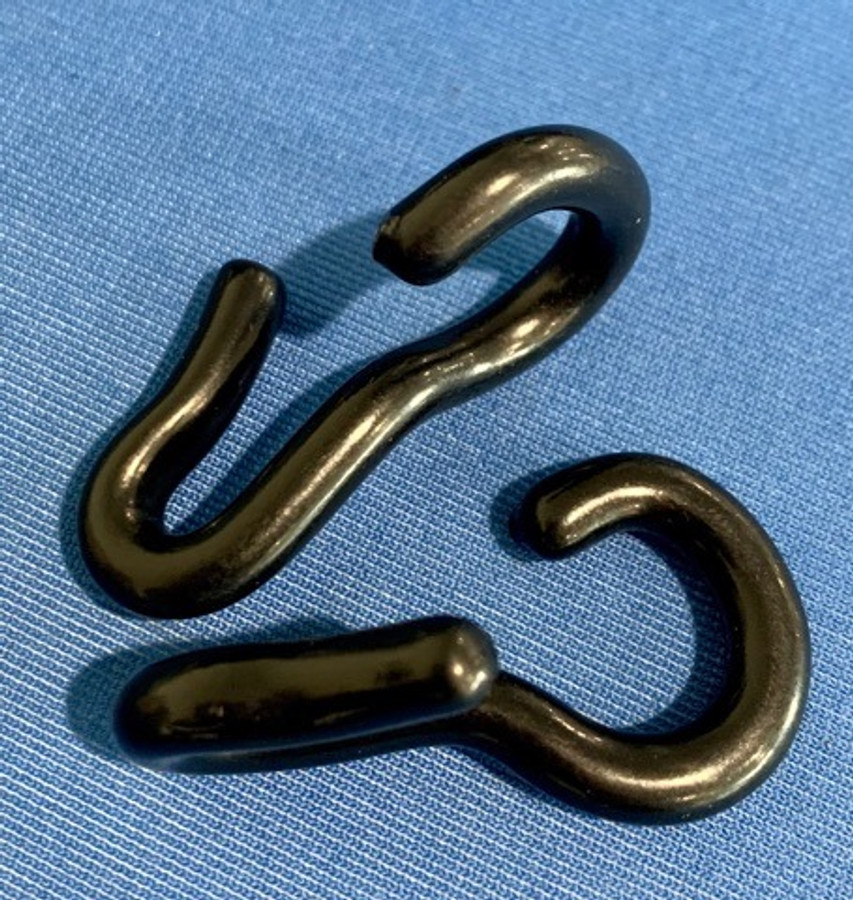 Rubber covered Curb hooks