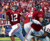 """The Last Pass"" - Collegiate Classic 8x10 - Alabama Football vs. Texas Tech 2006 (Cotton Bowl)"