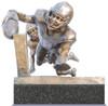 """Finish!"" - Medium, Bronze Cast - Alabama Football 2015 National Champions (Kenyan Drake)"