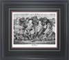 """""""The Blowout"""" - Pencil Drawing - Alabama Football vs. Auburn 2008"""