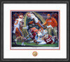 Shown in our Black frame with White/Orange/Purple matting