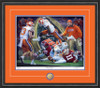 Shown in our Black frame with Orange/Purple matting