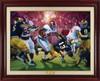"""Crimson Dynasty"" - Canvas Editions - Alabama Football 2012 National Champions"