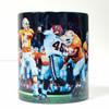 """Peyton Manning Pass"" 11oz Beverage Mug (Tennessee Football)"