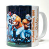 """Peyton Manning Pass"" 11oz Beverage Mug (Tennessee Football)"