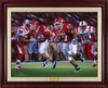 """Resurgence"" - Limited Edition Canvases - Rutgers Football vs. Louisville 2006"