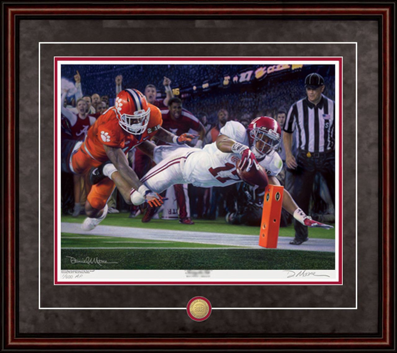 Alabama 16th National Championship Commemorative By Daniel A Moore