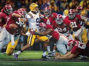 """The Shutout"" - Collegiate Classic 8x10 - Alabama Football 2011 National Champions"