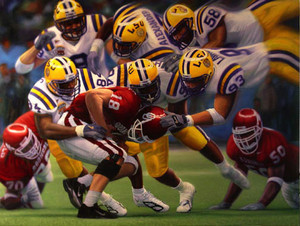 """Reigning Tigers"" by Daniel A. Moore 2003 National Champions"