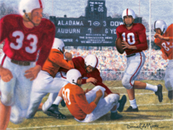 """Iron Bowl 1953"" - Alabama Football vs. Auburn"