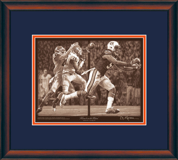 """Miracle on the Plains"" - Pencil Drawing - Auburn Football vs. Georgia 2013"