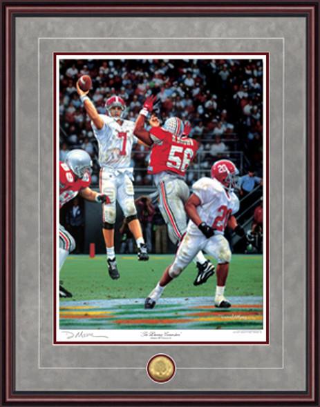 """The Winning Connection"" - Print Edition - Alabama Football vs. Ohio State 1995 (Jay Barker)"
