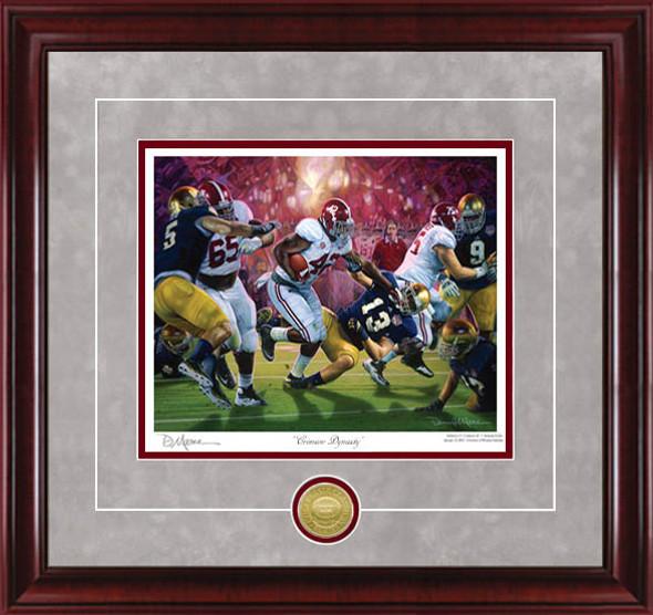 """Crimson Dynasty"" - Collegiate Classics 8x10 - Alabama Football 2012 National Champions"