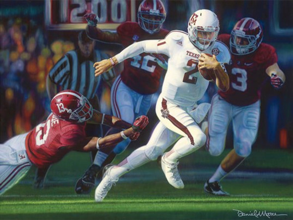 """""""Turning the Tide"""" by Daniel A. Moore 2012 College Football Game of the Year Award®"""