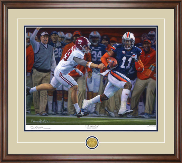 """The Runback"" - Print Editions - Auburn Football vs. Alabama 2013"