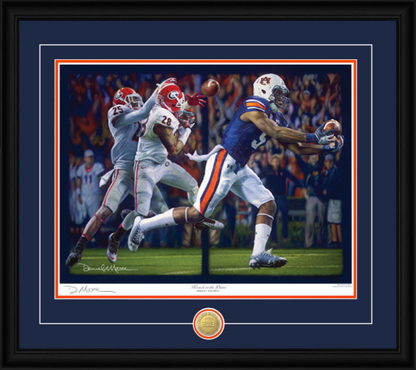 """Miracle on the Plains"" - Print  Editions - Auburn Football vs. Georgia 2013"
