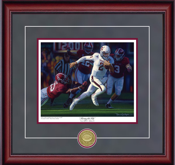 """Turning the Tide"" - Collegiate Classic 8x10 - Texas A&M Football vs. Alabama 2012"