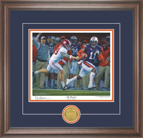 """The Runback"" - Collegiate Classic 8x10 - Auburn Football vs. Alabama 2013"