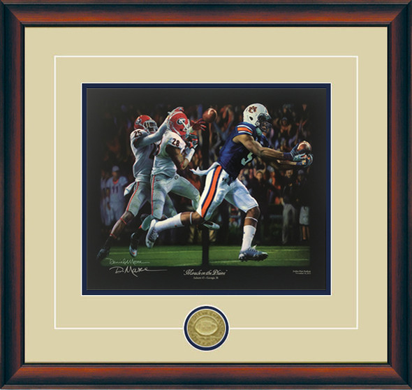 """Miracle on the Plains"" - Collegiate Classic 8x10 - Auburn Football vs. Georgia 2013"