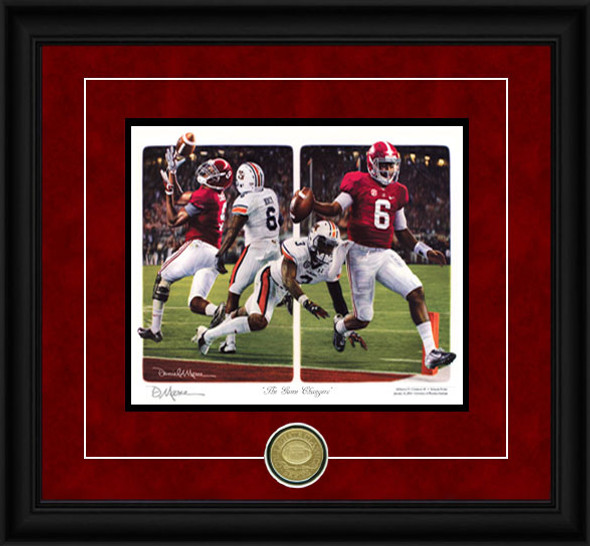 """The Game Changers"" - Collegiate Classic 8x10 - Alabama Football vs. Auburn 2014"
