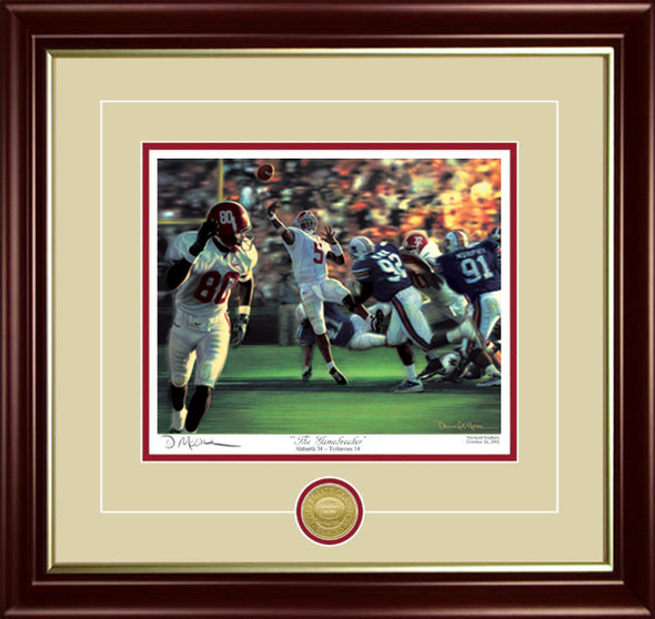 """The Gamebreaker"" - Collegiate Classic 8x10 - Alabama Football vs. Auburn 2001"