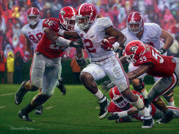 """The Washout"" - Print Editions - Alabama Football vs. Georgia 2015 (Derrick Henry)"