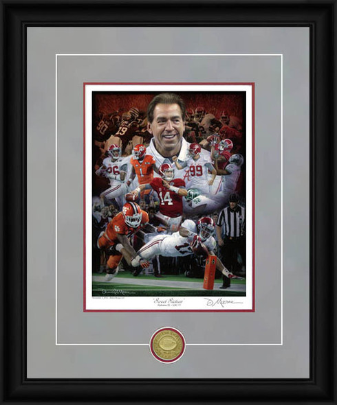 """Sweet Sixteen"" - Collegiate Classic 8x10 - Alabama Football 2015 National Champions"