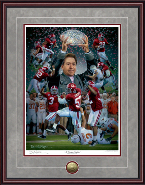 """A Crimson Tradition"" - Print Editions - Alabama Football 2009 National Champions"